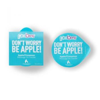 Bougie de Massage Pomme et Cannelle